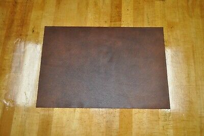 "NEW! Soft, Thin Brown Craft Leather Piece 12"" by 18"" 1.5 square feet"