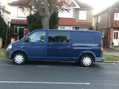 2005 Vw Transporter T30 1.9 85 Tdi Lwb Crew Cab/Panel Van Auction Must See!!