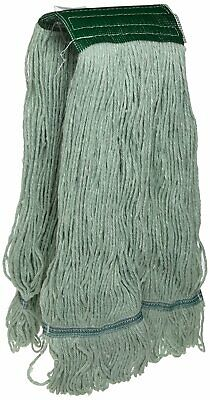 JaniMop Looped End Pro Green Mop Head, Wide Band, Large, 1 Each