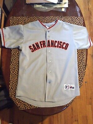 Vintage Majestic MLB San Francisco Giants Jersey Size Large No Number Or Name
