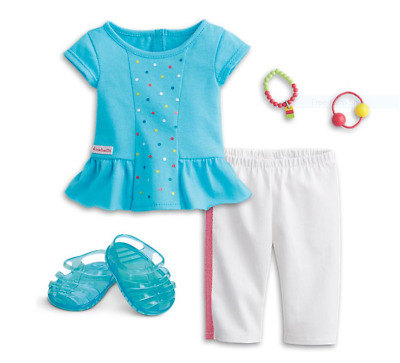 American Girl Rainbow Spring Outfit NEW in BOX