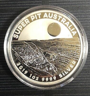 2019 Austrailia Super Pit By Perth Mint Limited Gem Bu In Capsule Ebx