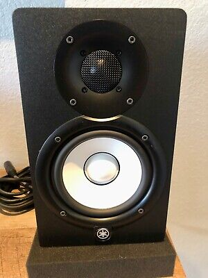 Yamaha HS5 Powered Studio Monitor - Black (Pair) XLR Cables / Sound Pad