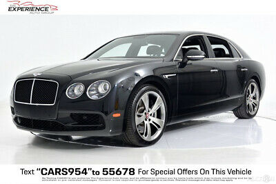 2018 Bentley Flying Spur V8 S Mulliner 21 Wheels Adaptive Cruise Interior Style Specification Dark Stained Madrona Dark