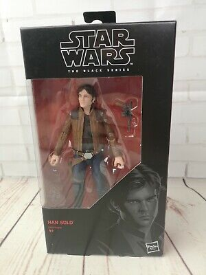 "Star Wars Black Series Han Solo Movie 6"" Action Figure #62 new in box"