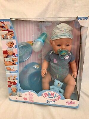 BABY BORN Zapf Creations Interactive Boy Doll (Including All Accessories)