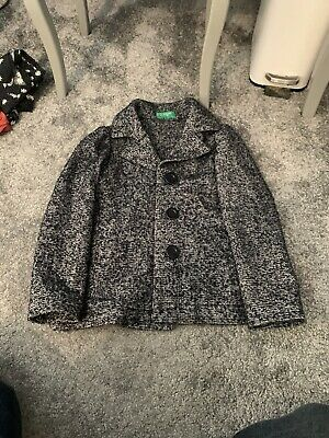 United Colours Of Benetton Girls Coat Age 6-7