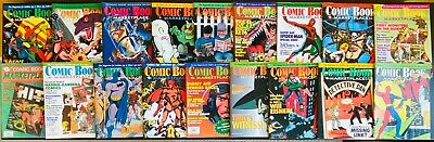 18 Issues of Comic Book Marketplace # 9 - # 38 ~ (1992 to 1996) Nice Condition