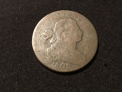 1802 Draped Bust US Large Cent Penny . Nice Vintage Coin