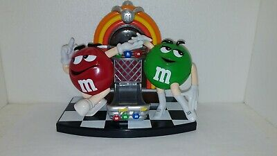 M&M  Red and Green Jukebox Dispenser