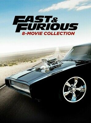 Fast & Furious 8-Movie Collection (2019) VUDU INSTAWATCH HDX DIGITAL ONLY