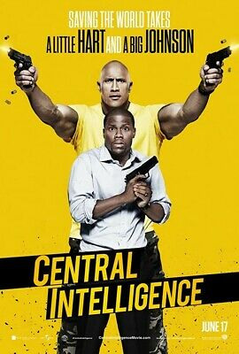 Central Intelligence (2016) VUDU INSTAWATCH HDX DIGITAL ONLY
