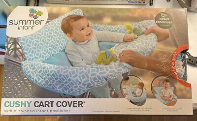 New Summer Infant 2-in-1 Cushy Cart Cover and Seat Positioner 78290