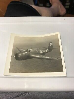 """Vintage 1948 Military Photo Plane Over The Pacific 5""""x 4"""""""