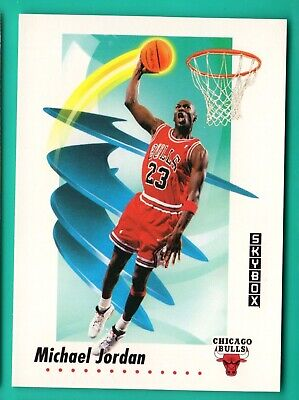 1991-92 Skybox 39 Michael Jordan Bulls Guard The Last Dance