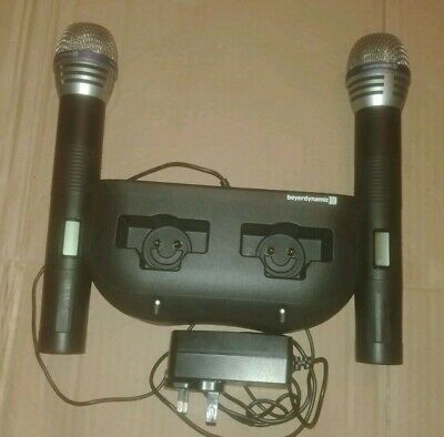 Beyerdynamic 910C Microphones and charger