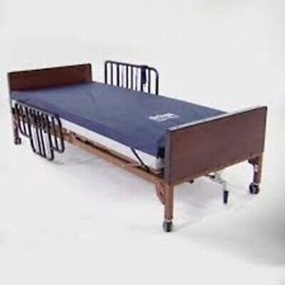Fully Electric Hospital Bed with Mattress and Rails