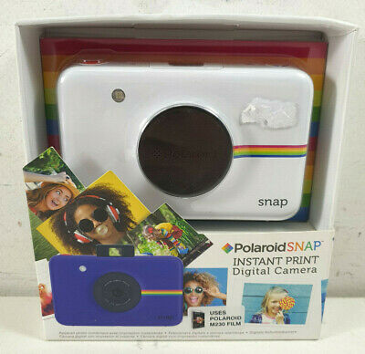 Polaroid Snap Instant Digital Camera with Intergrated Printer  **BRAND NEW**