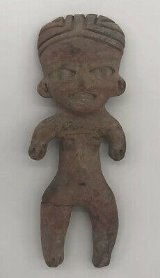 Authentic Pre-Columbian Painted Pottery Figure