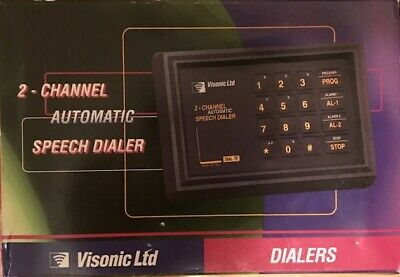 Visonic DL-125C Two-Channel Automatic Voice Dialer (New In Box)