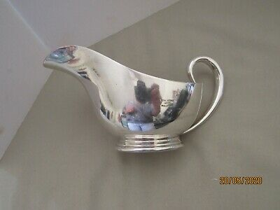 Elkington  Silver Plated Sauce Boat From The Royal George Hotel Millport