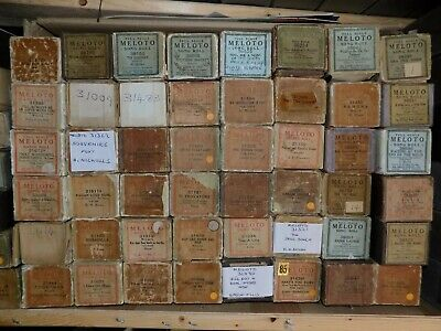 48 x Pianola Piano Rolls 88 note carton Meloto Song and Dance