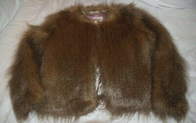 Fab Girls Boden Johnnie B Fluffy Jacket Aged 9-10 Years - In Good Condition