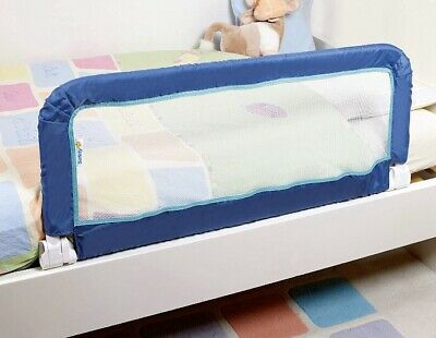 Safety 1st Adjustable Portable Bed Rail Guard Blue For Baby/Toddler/Child/Kid