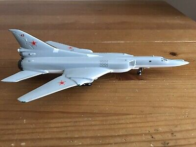 Historic Aircraft Models 1:200, Soviet Air Force, Tupolev Tu-22,  Unboxed Model