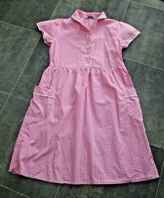 Fab Girls M&S Summer School Dress Aged 8-9 Years - In Good Condition