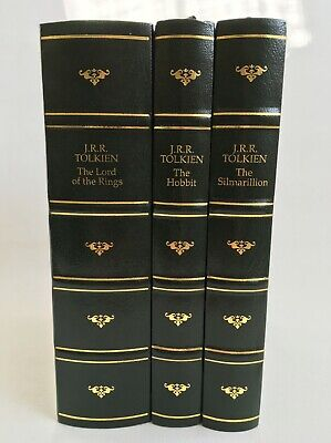 J.R.R. Tolkien The Hobbit The Lord of the Rings The Silmarillion BCA 1992