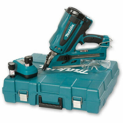 Clearance Makita GN900 7.2v 1st Fix Gas Nailer 2 x Batteries Charger Case