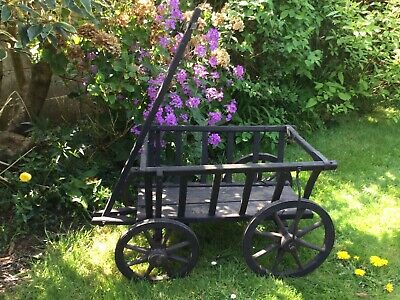 Victorian Dog Cart In Original Condition/garden Planter