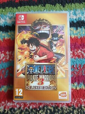 Nintendo Switch Game One Piece Pirate Warriors 3 Deluxe