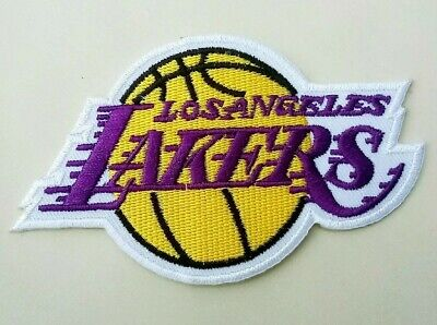 """Los Angeles Lakers Embroidered 4"""" Iron On Patch"""