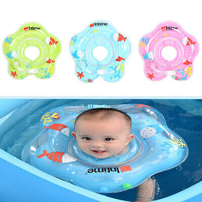 Newborn safety adjustable soft swimming neck ring