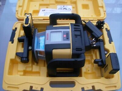 Leica Rugby Cli CLX 900 Dual Grade Rotary Laser Calibrated