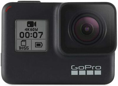 GoPro HERO7 Black Waterproof Digital Action Camera with Touch Screen -Opened Box