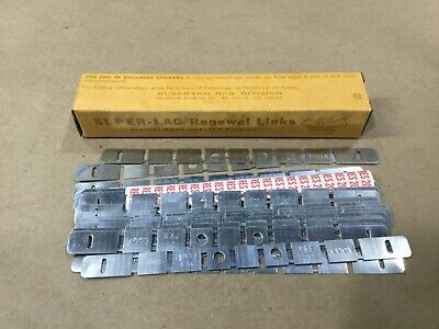 Box Of 20 Bussmann Buss Super-Lag Renewal Links LKS-20 600V #16H54RM