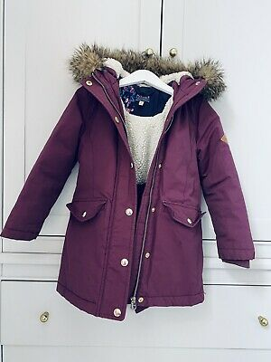 joules girls coat age 6