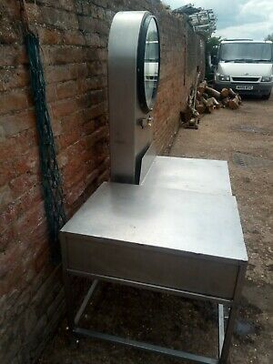 Scales Stainless Platform With Stand Butchers Shop Or Farm Shop