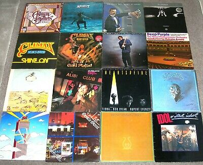 COLLECTION OF 40 CLASSIC ROCK / PROG ROCK LPs