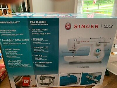 Singer 3342 Fashion Mate Sewing Machine ✅ BRAND NEW SEALED SHIPS NEXT DAY ✅