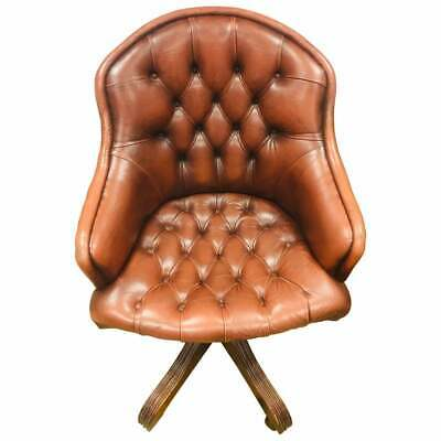 Original Chesterfield Dreh Sessel Made in England von der Firma Wade