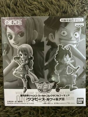 Wcf One Piece World Collectable Figure Luffy Nami Weekly Shonen Jump Super Rare