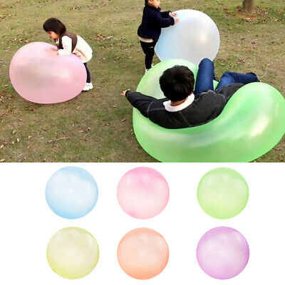 Bubble Ball Inflatable Balloon Amazing Toy Stretch Beach Kids Interactive Party
