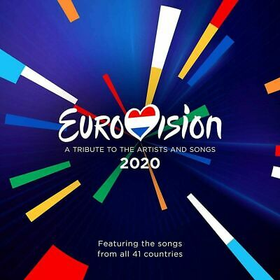 EUROVISION SONG CONTEST 2020 (Rotterdam) 2 CD Set (Released May 15th 2020)