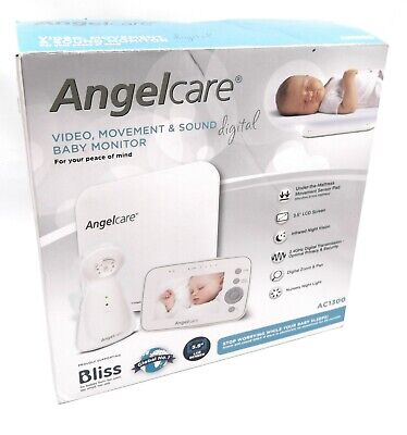 ANGELCARE AC1300 - Baby Movement, Sound and Video Monitor