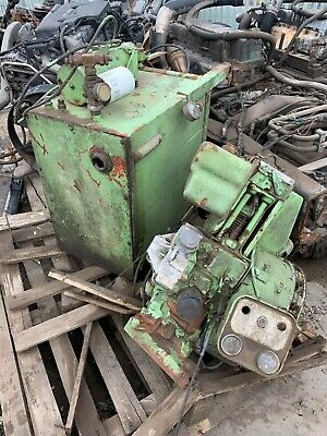 Lister Petter Diesel Engine with Hydraulic Pack