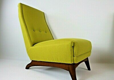 Greaves And Thomas Lounge Cocktail Chair Retro Vintage Newly Upholstered